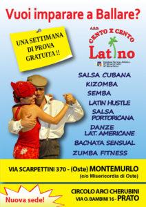 Vuoi imparare a ballare? nuova sede cento x cento latino
